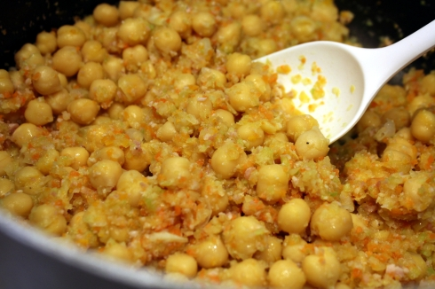 Chickpeas and Vegetables