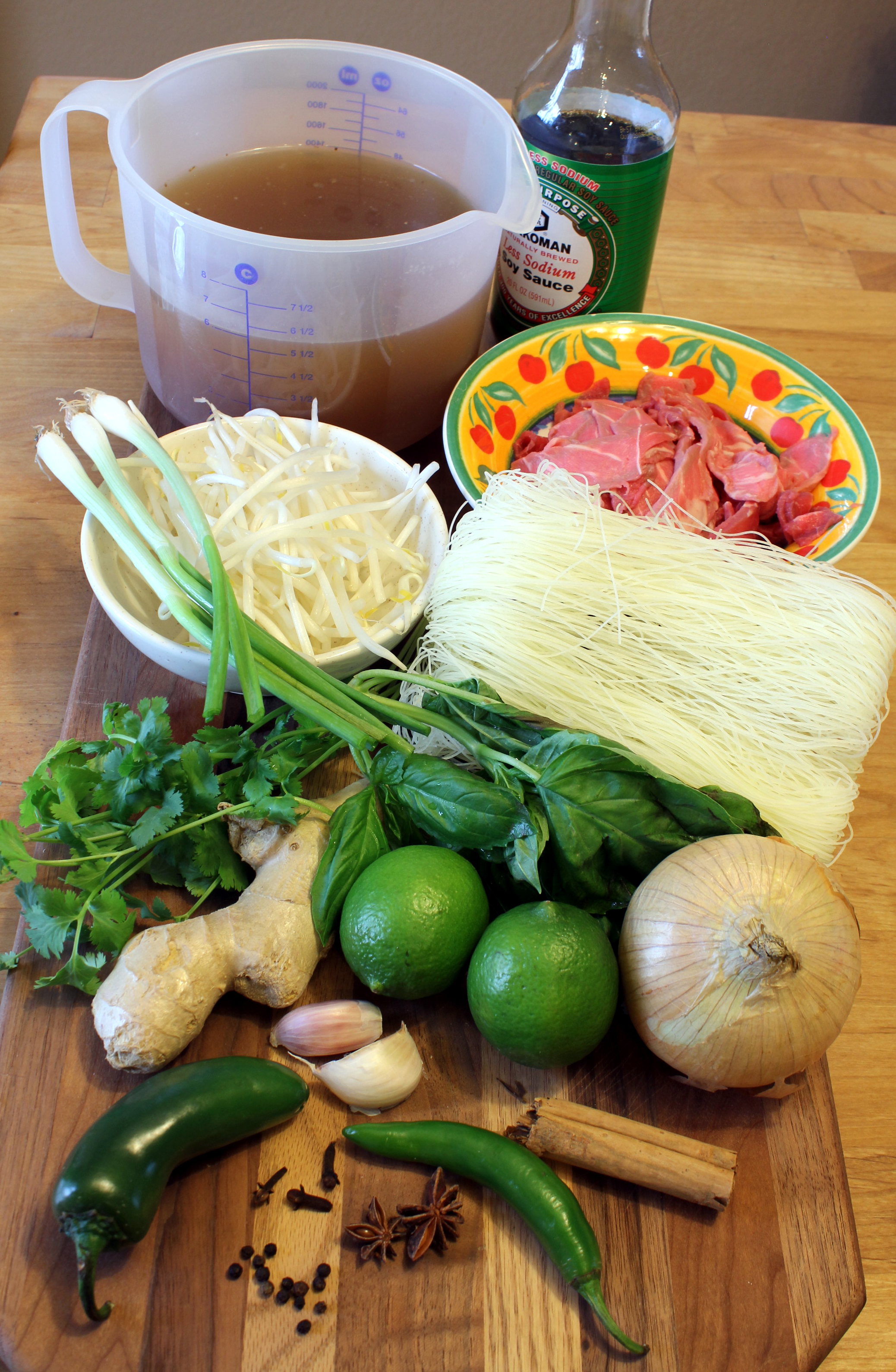 Cheater Pho Bo (Vietnamese Beef Noodle Soup
