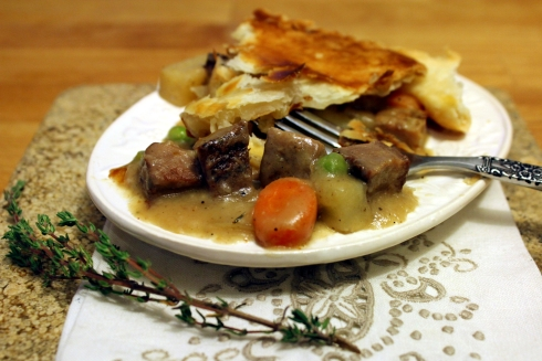 Steak and Pork Pot Pie
