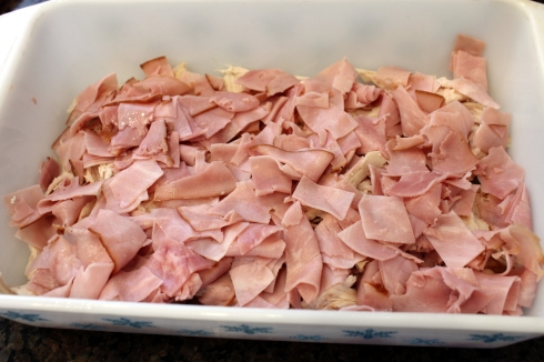 Chopped Ham Layer