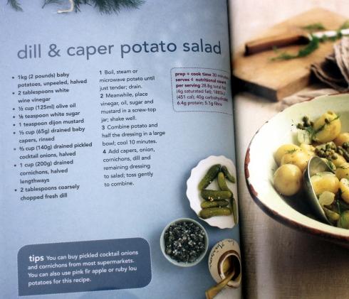 Dill and Caper Potato Salad