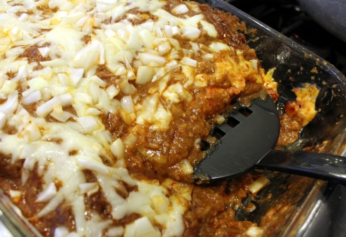 Authentic Tex-Mex Cheese Enchiladas with Chile Gravy