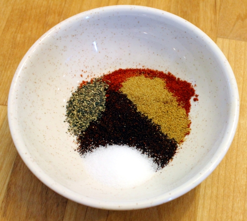 Spices for Chile Gravy