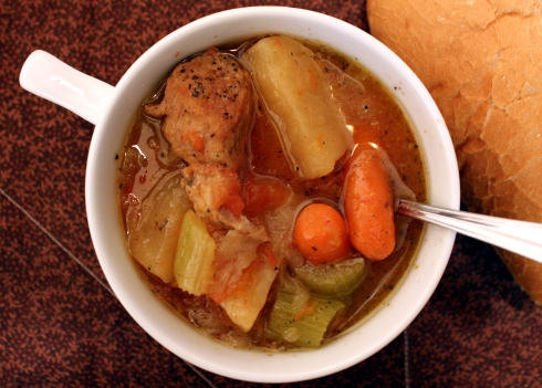 Braised Pork and Cider Stew