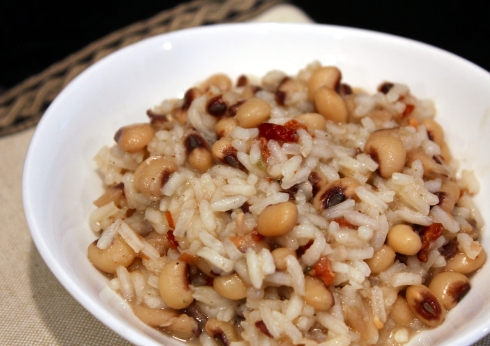 Black-Eyed Pea Risotto