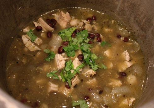 Cooked Chicken Posole