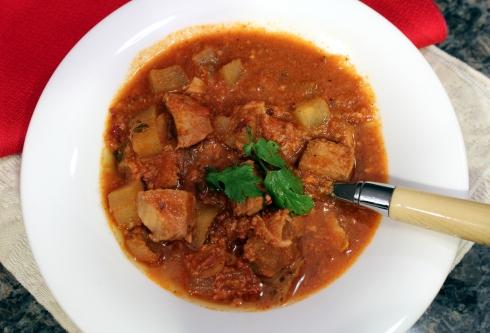 Chorizo-Based Carne Guisada1