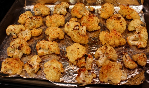 Roasted Cauliflower with Cumin and Smoked Paprika