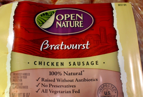 All Natural Chicken Sausage