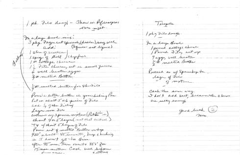 Spanakopita and Tiropita Recipes