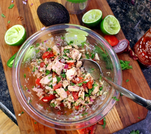 Ceviche Ready to Chill