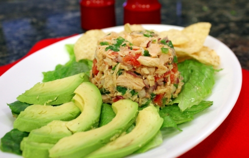 Spicy Canned Tuna Ceviche | anotherfoodieblogger