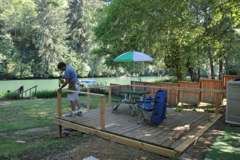 Finishing the Deck