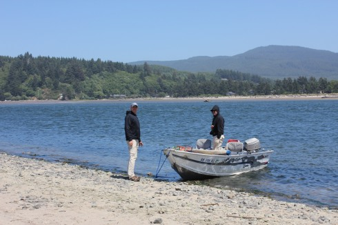 On the Siletz Bay