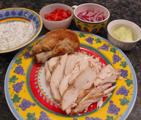 Chicken Wrap Ingredients
