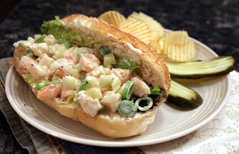 Summertime Shrimp Roll