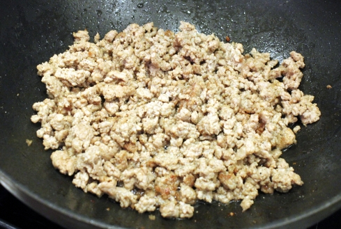 Browned Ground Pork