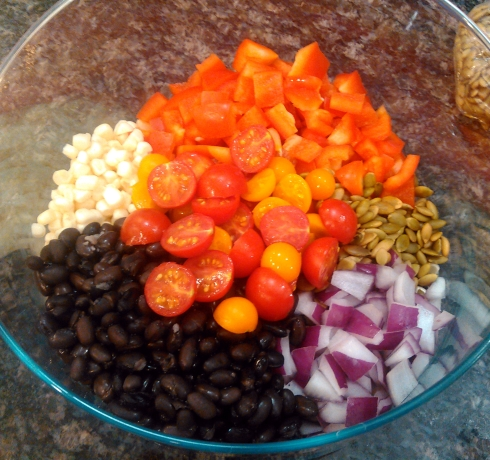 Southwest Taco Salad Ingredients