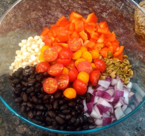 Southwest Taco Salad Ingredients