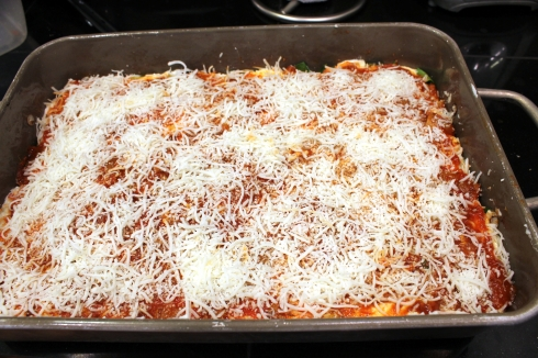 Lasagna Ready to Bake