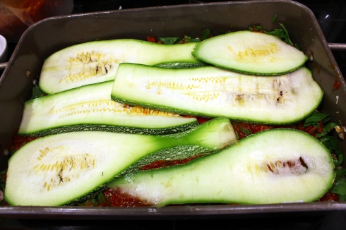Second Layer of Zucchini