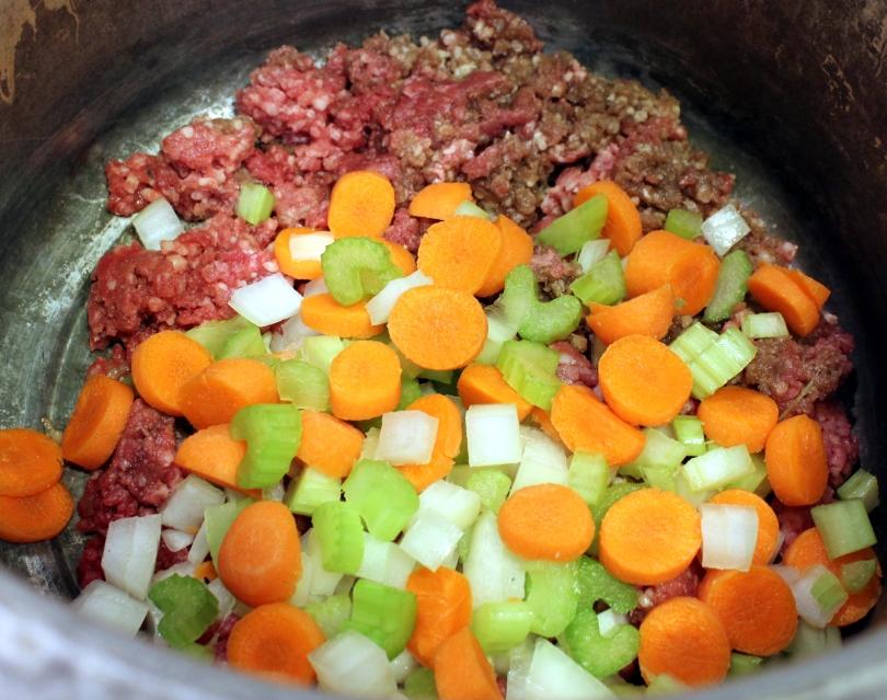 Ground Beef and Veggies