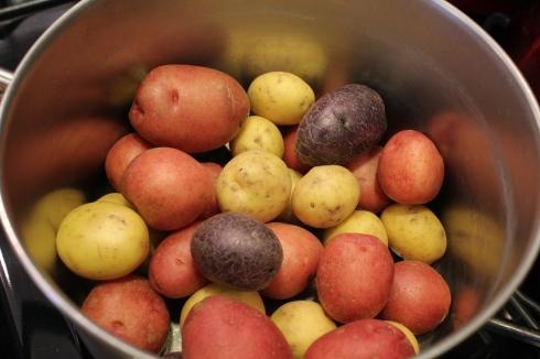 Uncooked Little Potatoes
