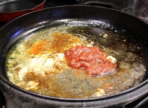 Preparing the BBQ Sauce