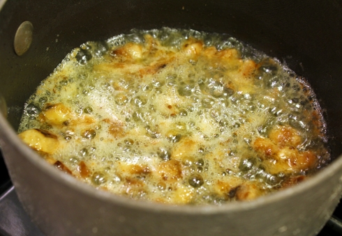 Simmering Mushrooms and Butter