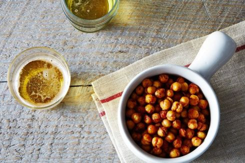 Wildcard Winner Toasty Roasted Chickpeas, Cajun Style