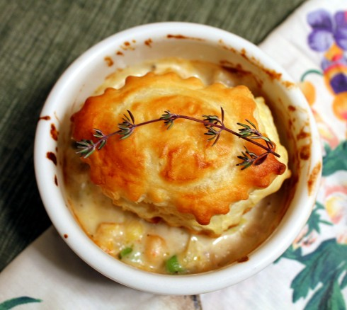 Spicy Shrimp and Leek Pot Pie2