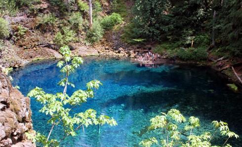 Blue Pool Oregon Hike