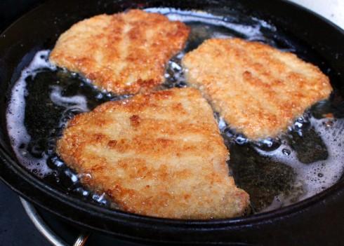 Fried Schnitzels