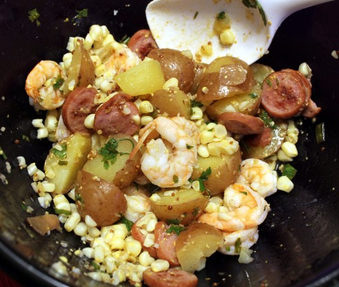 Good Ol' Shrimp Boil Potato Salad