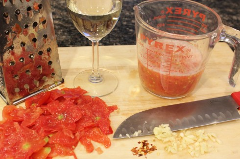 Grated Tomatoes and Such