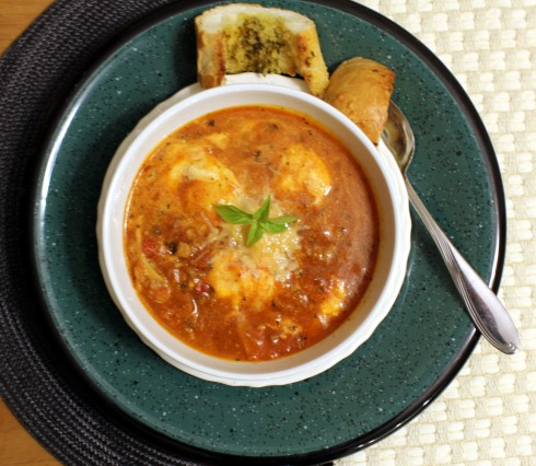 One-Pot Lasagna Soup