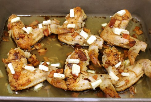 Roasted Chicken Ready to Finish Off