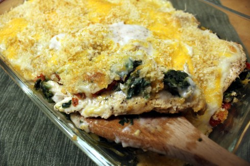 Spicy Chicken Florentine