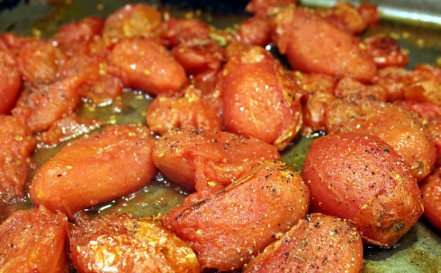 Roasted and Caramelized Tomatoes