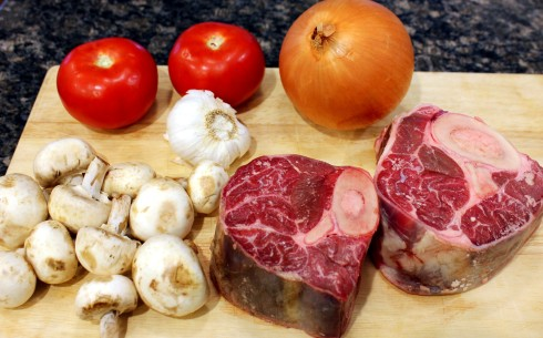 Beef Shank Ingredients