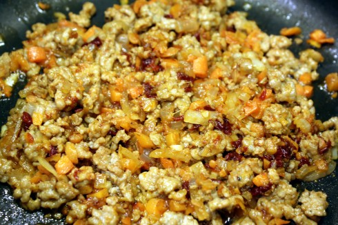 Sausage and Veggie Mixture