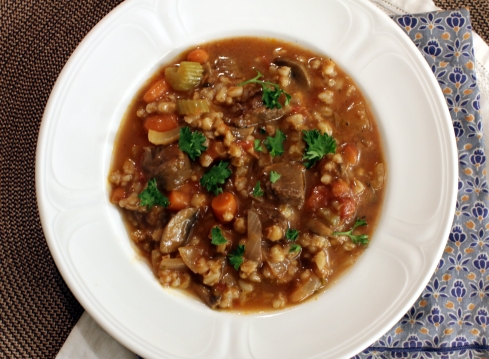 Beef Barley Stoup