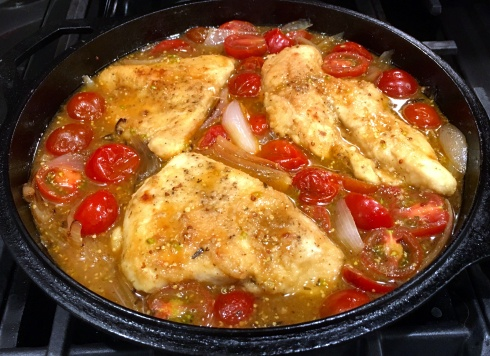 Chicken in Shallot Dijon Sauce